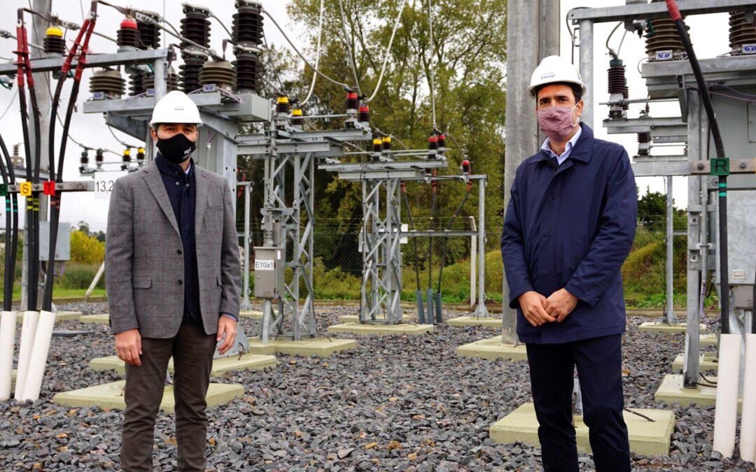 EDELAP construyó una nueva subestación eléctrica en Magdalena