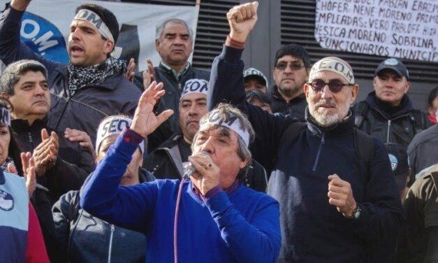 Rubén Cholo García repudió el fallo judicial contra el dirigente de la CTM Carlos Santillán