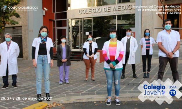 3 médicas buscan romper la histórica hegemonía masculina al frente del Colegio de Médicos de La Plata