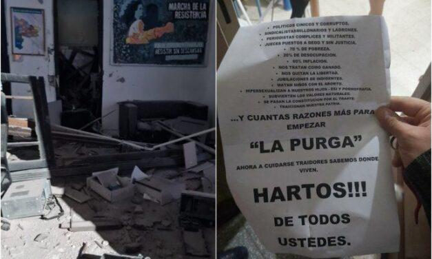 """Rubén García repudió el ataque al local del Frente de Todos en Bahía Blanca: """"Marcan una época que ya no queremos en la Argentina"""""""