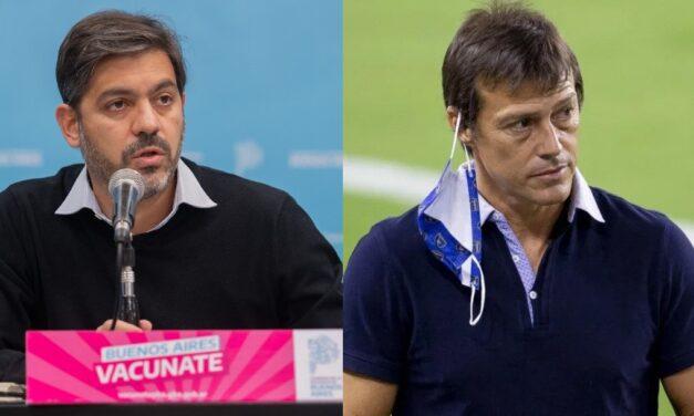 """Bianco destacó la """"excelente intención"""" de Almeyda pero acusó una """"operación"""" contra el gobierno"""