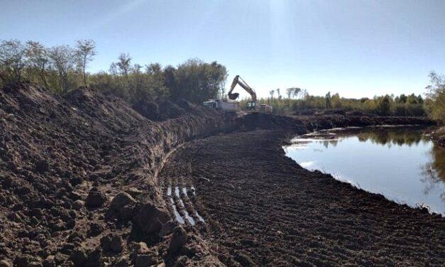 Comenzó el ensanchamiento del Río Luján para prevenir inundaciones