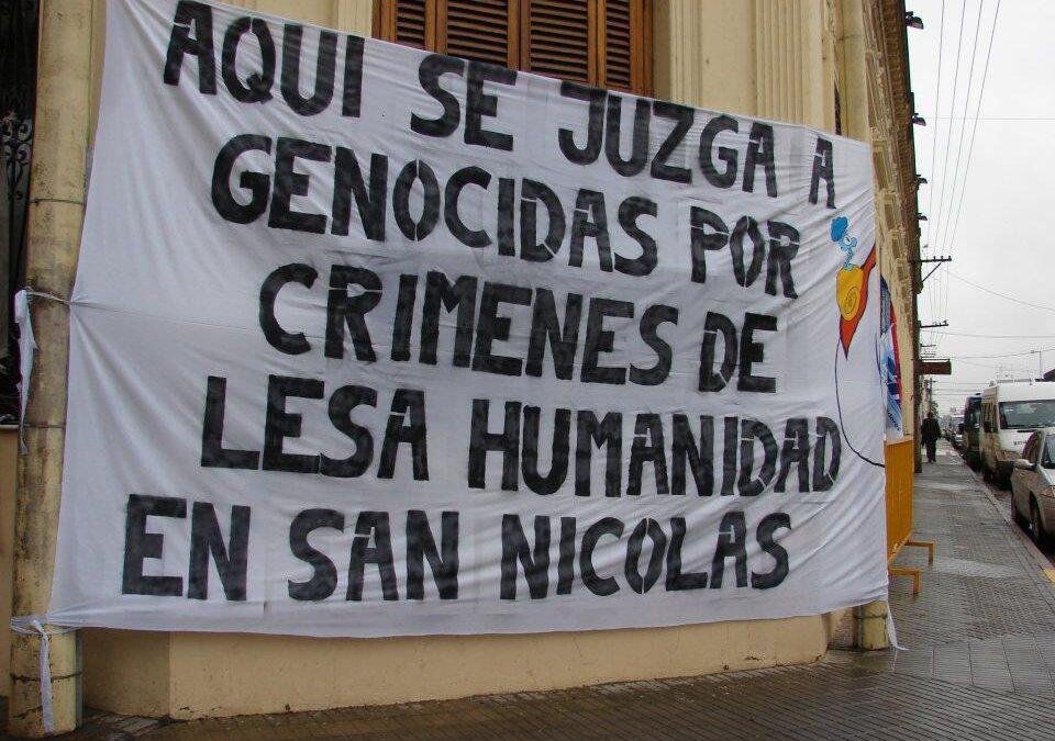 10 causas por crímenes de Lesa Humanidad en San Nicolás