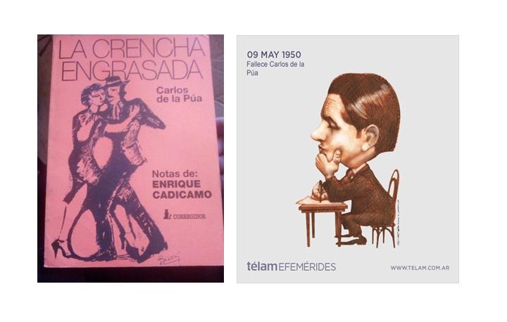 """El Tangazo del Fin de Semana: Carlos De la Púa, el lunfardo y """"la crencha engrasada"""""""