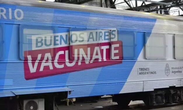 """Un """"Tren Vacunatorio"""" recorrerá la Provincia desde Cañuelas hasta Bahía Blanca"""