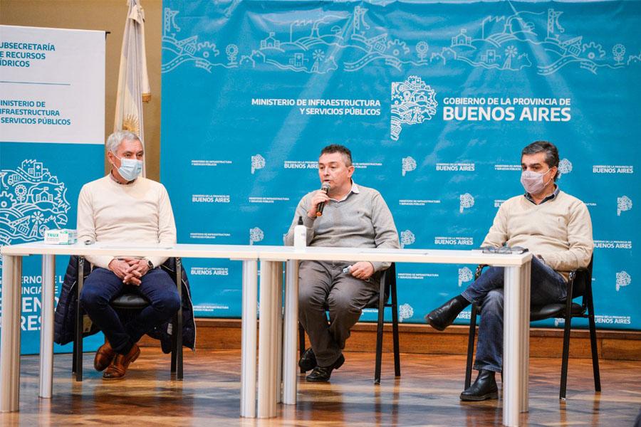 El Gobierno bonaerense licitó importantes obras hídricas para Bahía Blanca y Berisso