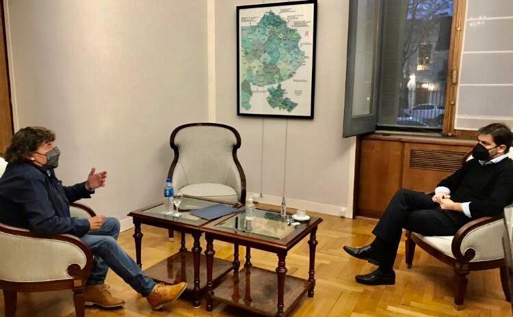 Micheli mantuvo un encuentro con Bianco y le insistió en la necesidad de otro IFE