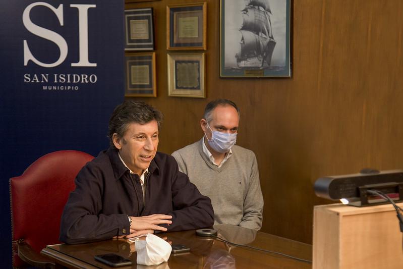 """Gustavo Posse: """"Logramos que el coronavirus afecte lo menos posible a la industria y al comercio"""""""