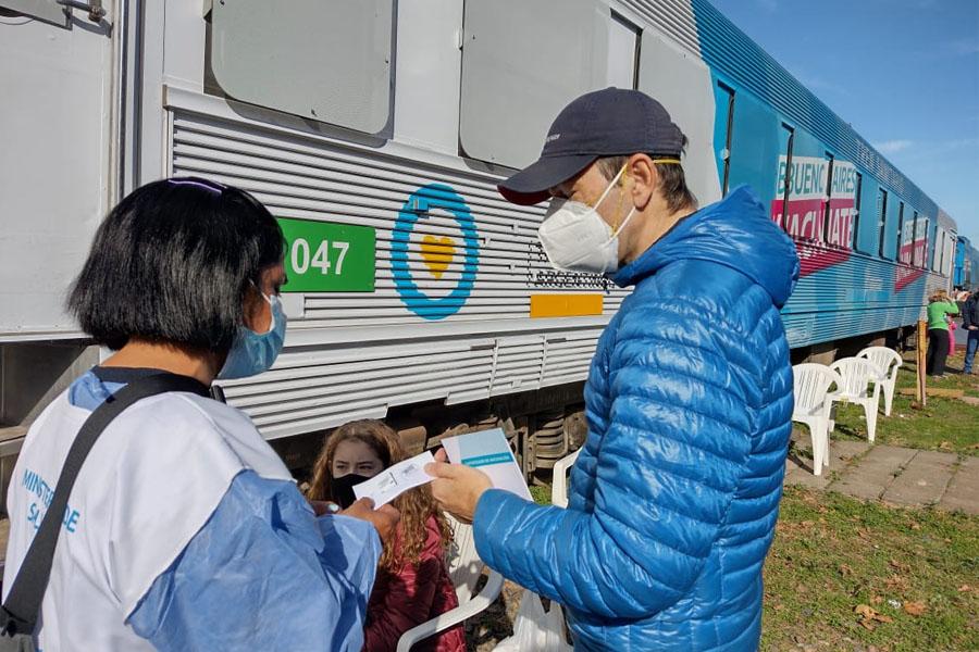 El Tren Sanitario continúa su recorrido: realizó 500 hisopados y el 50% dio positivo