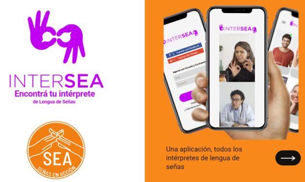 Lanzan Intersea la primera APP de interpretes de lengua de señas en Argentina y ganan un premio en google