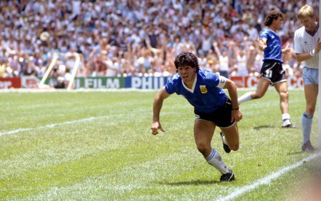 #GritaloporD10S a 35 años del gol de Maradona a los ingleses