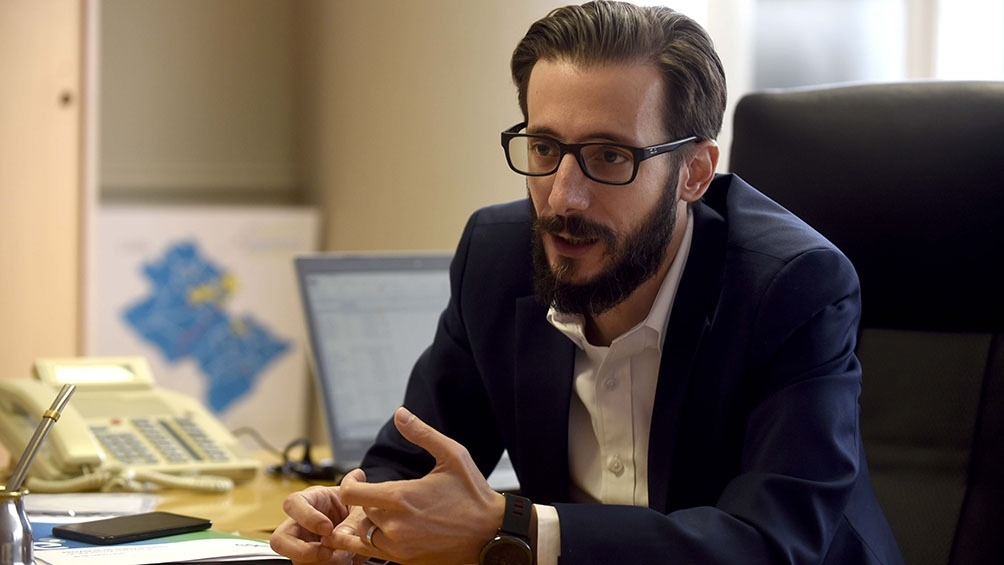 """Agustín Simone: """"Nuestro gobierno tiene una gran valoración por la planificación"""""""