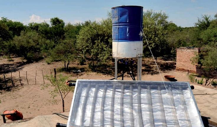como hacer un termotanque solar casero