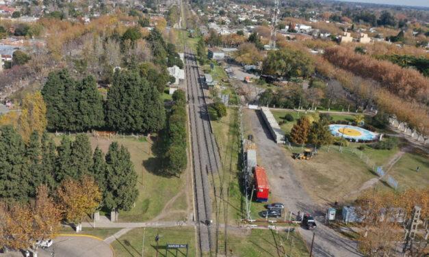 Comenzaron las obras para que el Tren Belgrano vuelva a Navarro después de 28 años