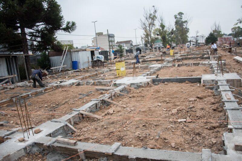 Obras en la Escula de Cadetes del Servicio Penitenciario Bonerense