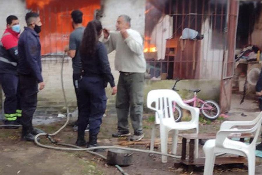 Conmoción en Escobar: se incendió una casa y dos nenes perdieron la vida