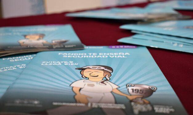 Transporte entregó 40 mil libros educativos de seguridad vial en Berisso y Ensenada