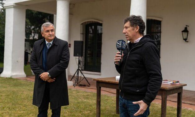 Posse recibió el apoyo del gobernador, Gerardo Morales de cara a las legislativas