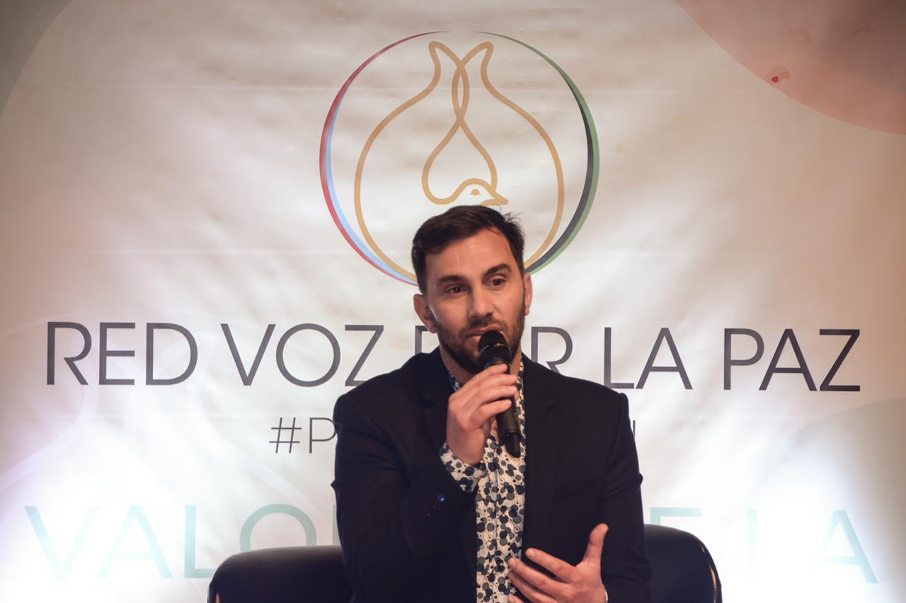 Odino Faccia, Presidente de la Fundación Red Voz Por la Paz