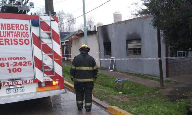 Conmoción en Berisso: una nena de un año murió carbonizada tras incendiarse una casa