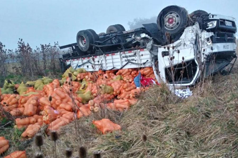 Tragedia en la Ruta 88: un muerto en un choque frontal cerca de Miramar