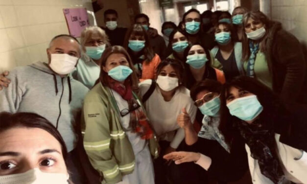 Dolores: médicos del Hospital San Roque celebraron el primer día sin pacientes de COVID-19 internados
