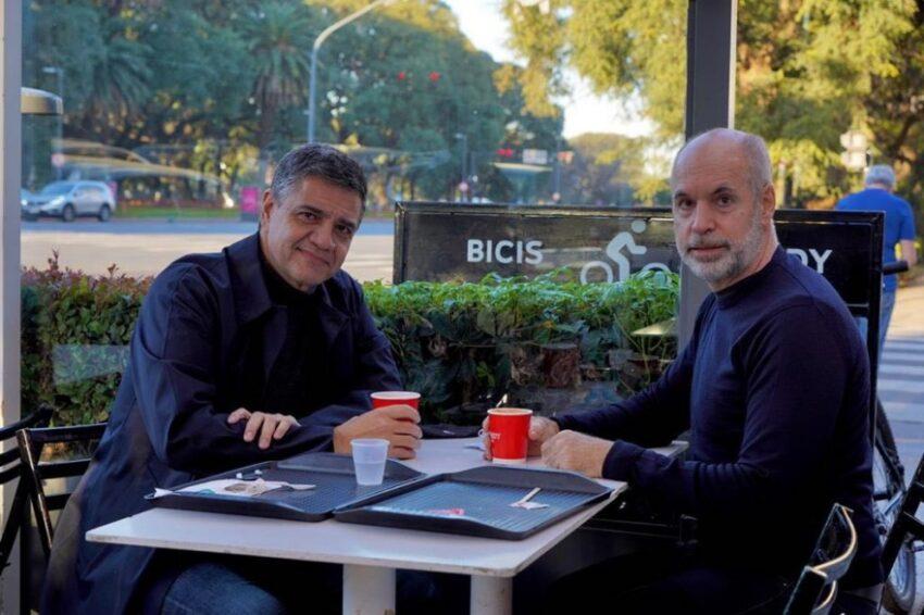 Jorge Macri declinó su candidatura como cabeza de lista en Provincia y levantó el brazo ganador de Larreta