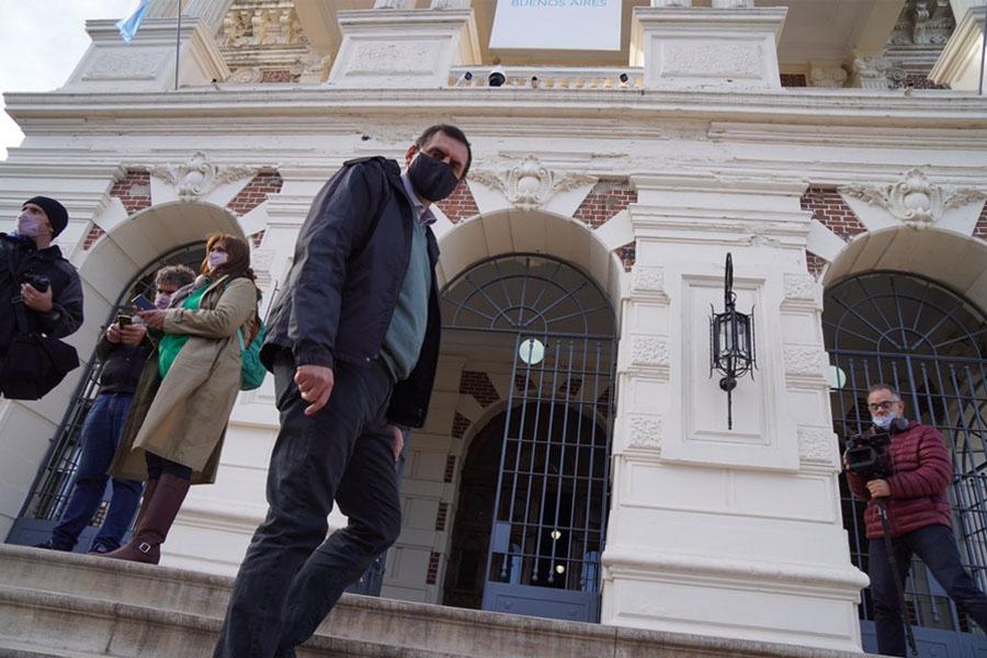 Alejandro Salcedo, titular de UDOCBA