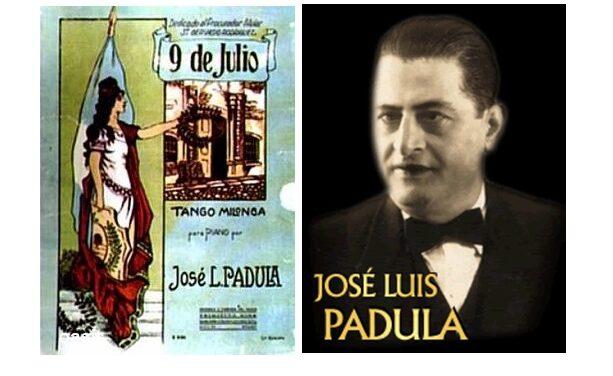 "El Tangazo del Fin de Semana: Homenaje a la independencia ""Nueve de Julio"", de padula"