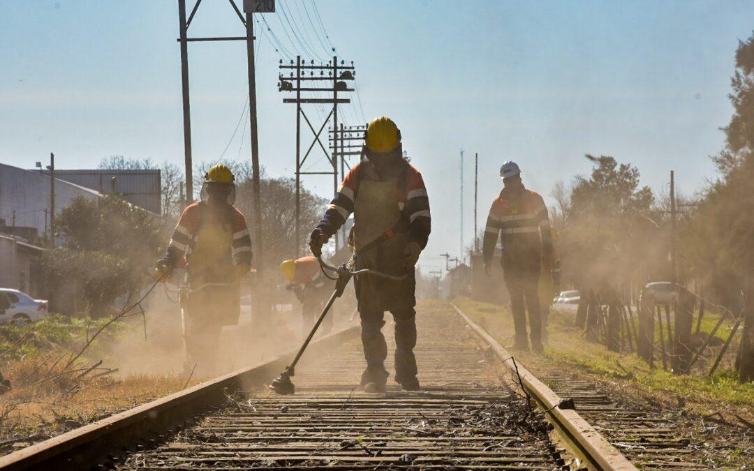 Avanzan a paso firme los trabajos para extender el tren de pasajeros de Bragado hasta Pehuajó
