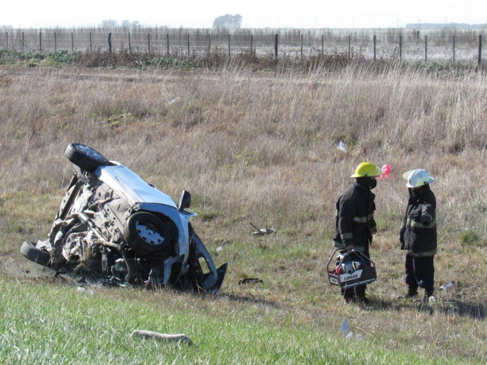 Accidente fatal en Ruta 3