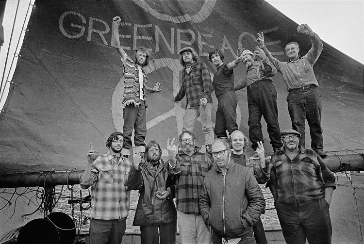 Greenpeace cumple 50 años de lucha ambiental