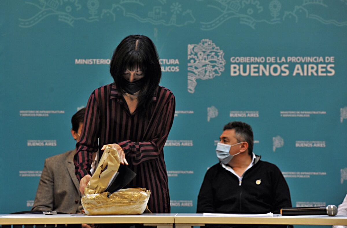 licitaron obras de agua en Bahía Blanca