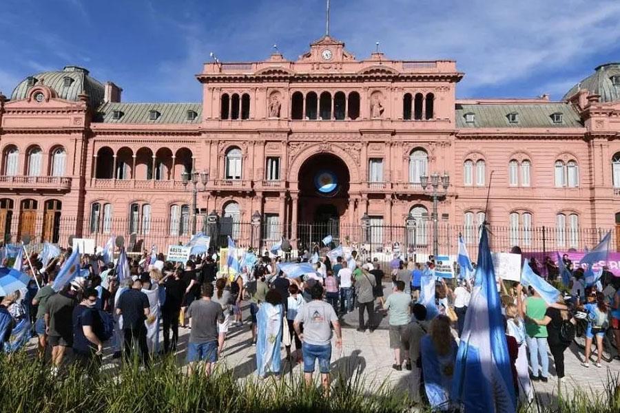 Quedó suspendida la marcha de los movimientos sociales a Plaza de Mayo en apoyo a Alberto Fernández