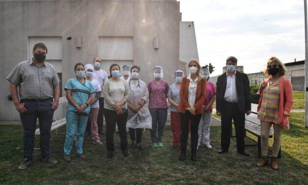 """Verónica Magario: """"Nos llena de esperanza el avance de la vacunación y cómo se traduce en mayor desarrollo económico"""""""