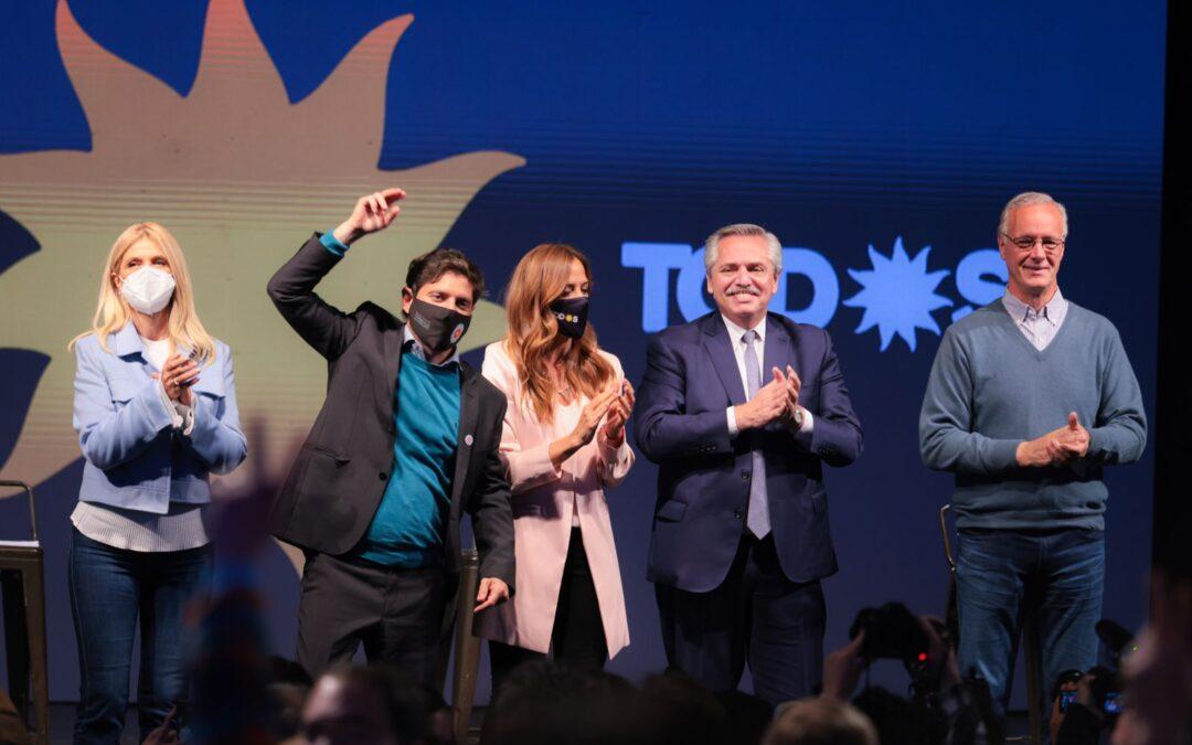 El Frente de Todos hizo su cierre en Mar del Plata como en el 2019