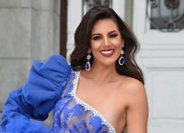 Amira Hidalgo, Miss Mundo y periodista Argentina