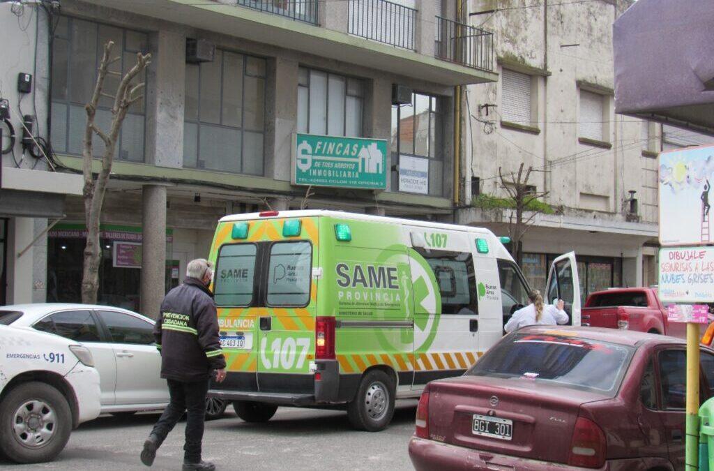 Tres Arroyos: un adolescente quiso salir por la ventana, cayó de un piso 9 y murió