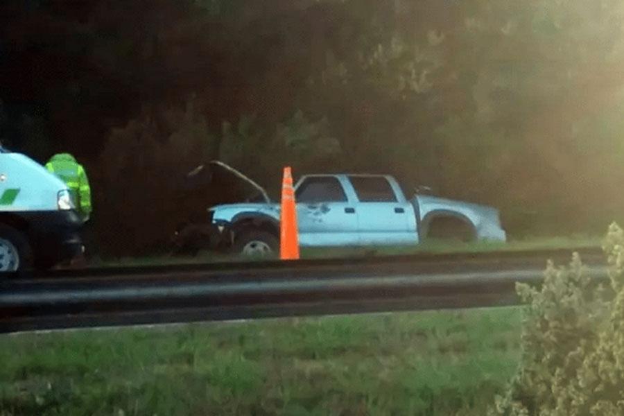 Tragedia en la ruta 226: un hombre de Balcarce murió tras despistarse y volcar con su camioneta
