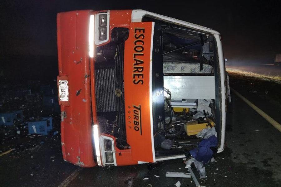 Tragedia en Chascomús: murió un bebé de 4 meses y hay seis heridos por un triple choque en la Ruta 2