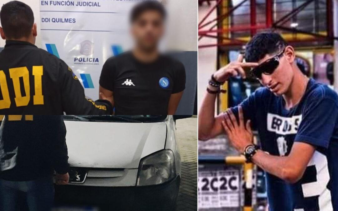"""Cayó el presunto asesino al volante que huyó luego de matar """"Fichi"""", el bailarín callejero de Quilmes"""