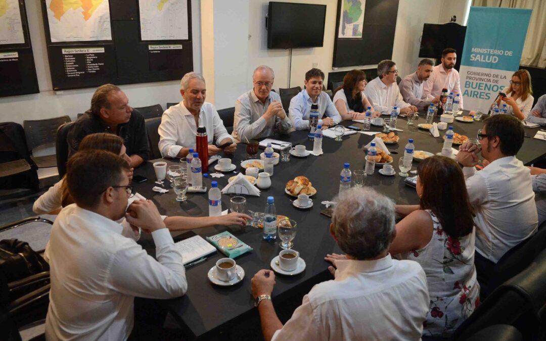 Todo el gabinete de Kicillof puso su renuncia a disposición