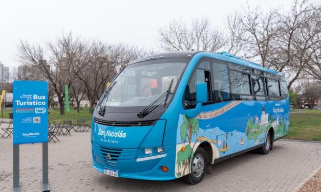 San Nicolás ya cuenta con Bus Turístico: permitirá a los vecinos y turistas realizar un recorrido por los principales atractivos