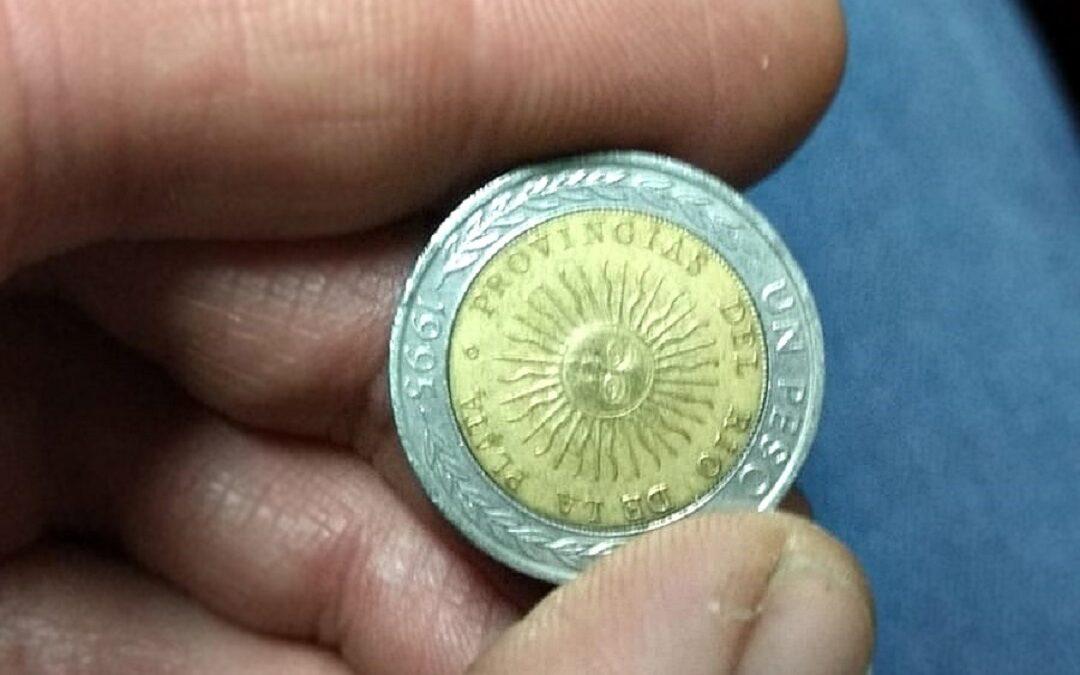 ¿Cuánto valen las monedas de 1 peso con error?: una burbuja que explotó muy rápido