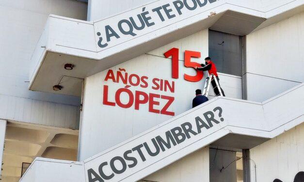 15 años sin Julio López: en La Plata ya renovaron el emblemático mural por su desaparición