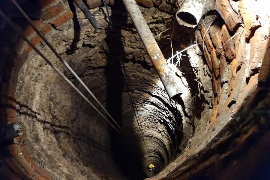 Dramático rescate de un nene que cayó en un pozo de más de 20 metros de profundidad en Coronel Dorrego