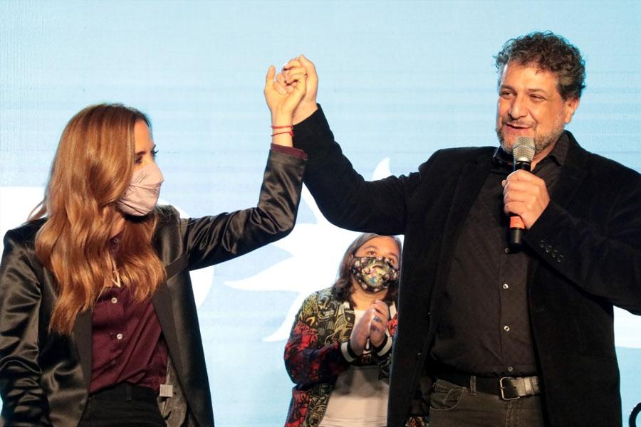 PASO 2021: Tolosa Paz encabezó el cierre de campaña del Frente De Todos de La Plata