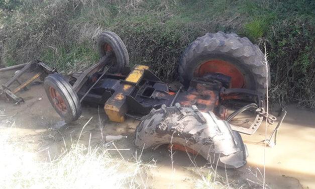 Conmoción en Bolivar: trabajador rural perdió a vida luego de volcar su tractor