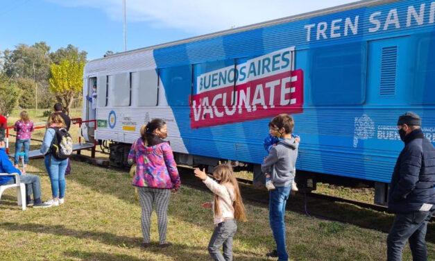 El Tren Sanitario visitará ocho distritos en la Quinta Sección: anotá las fechas y su recorrido