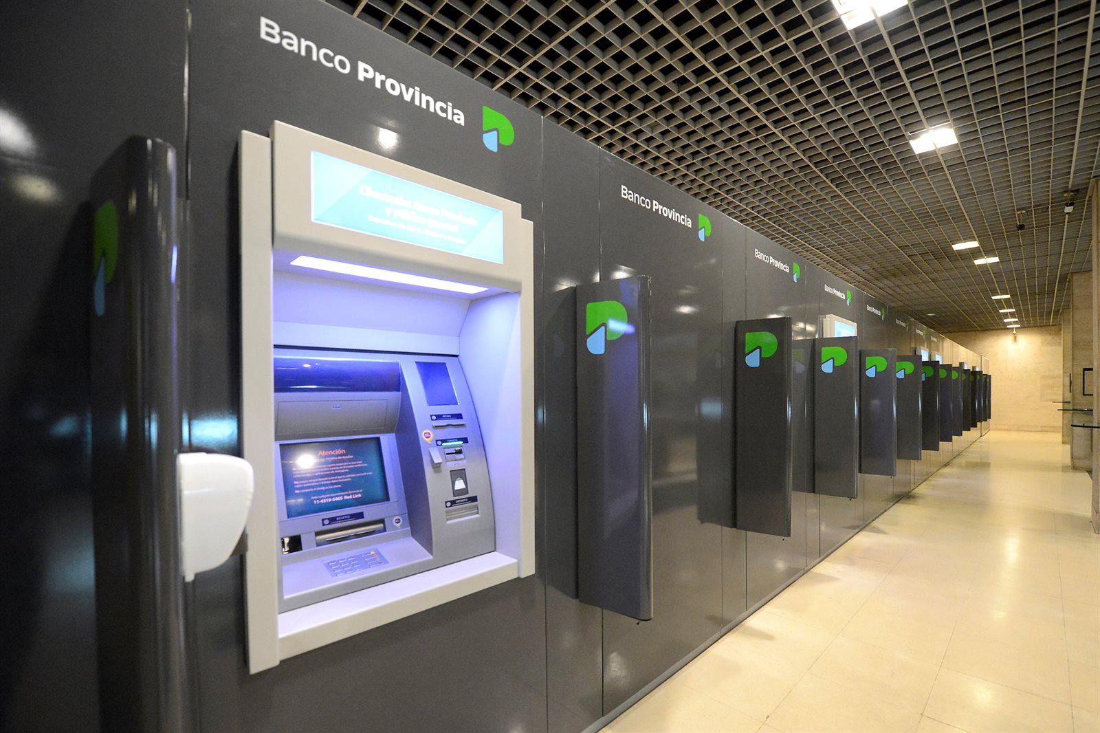 banco provincia Aca se produce